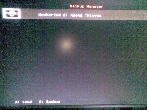 Backup Manager Page